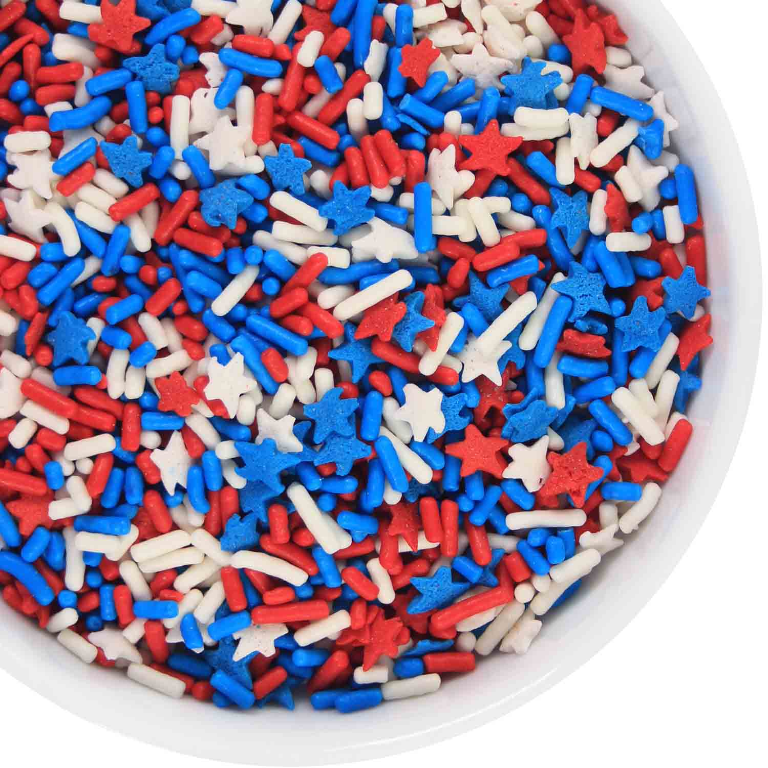 Stars and Stripes Sprinkle Mix