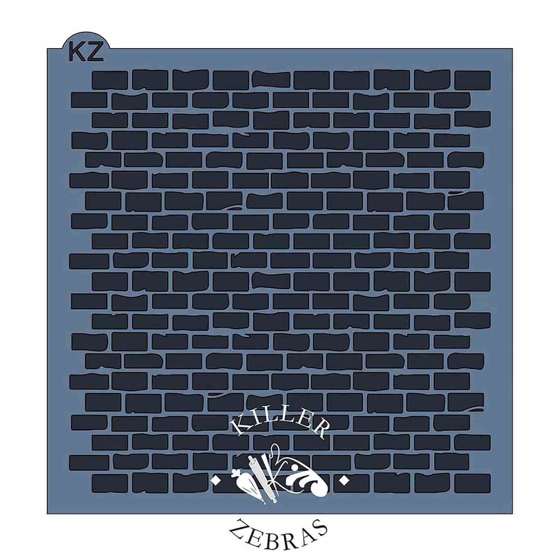 Brick Pattern Stencil