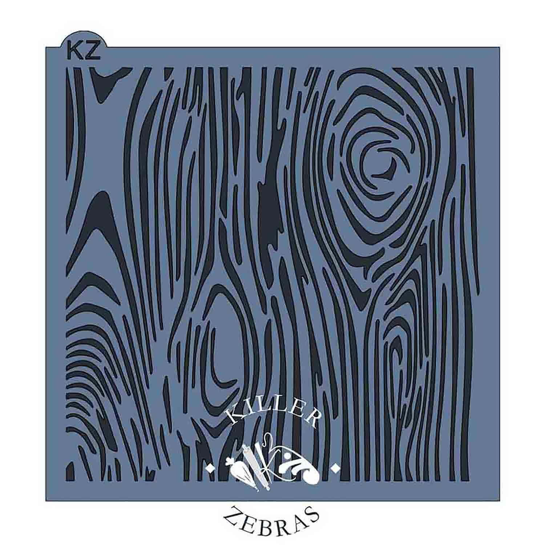 Wood Grain Stencil