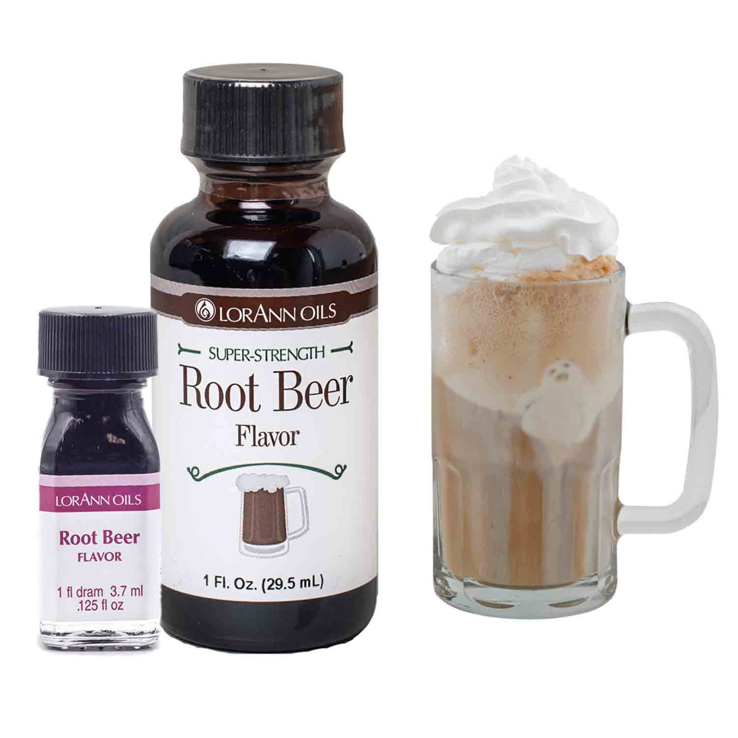 Root Beer Super-Strength Flavor