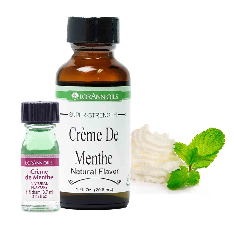 Crème de Menthe Super-Strength Flavor