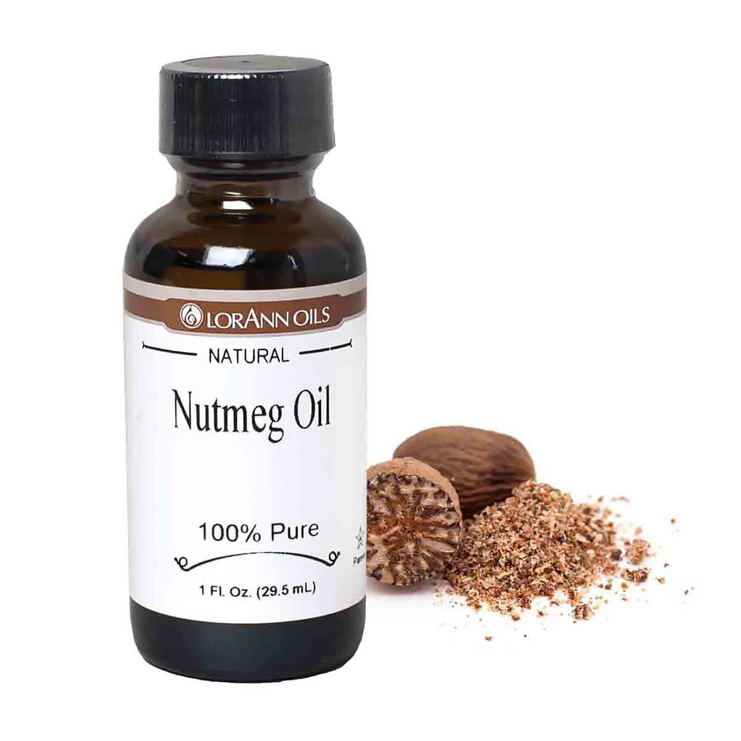 Natural Nutmeg Super-Strength Oil
