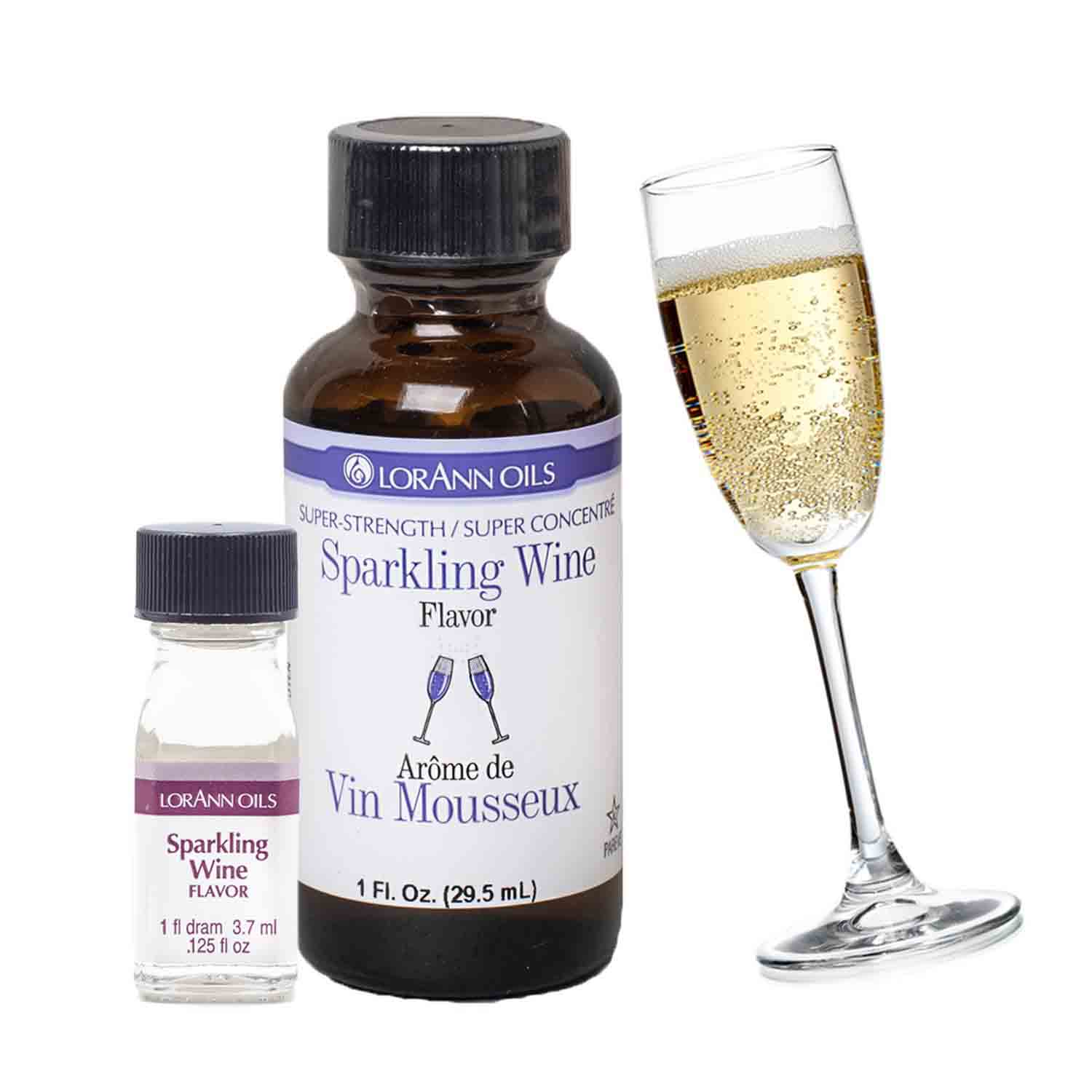 Sparkling Wine Super-Strength Flavor