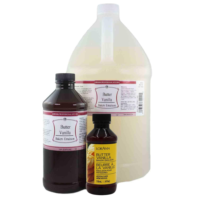 Butter Vanilla Bakery Emulsion