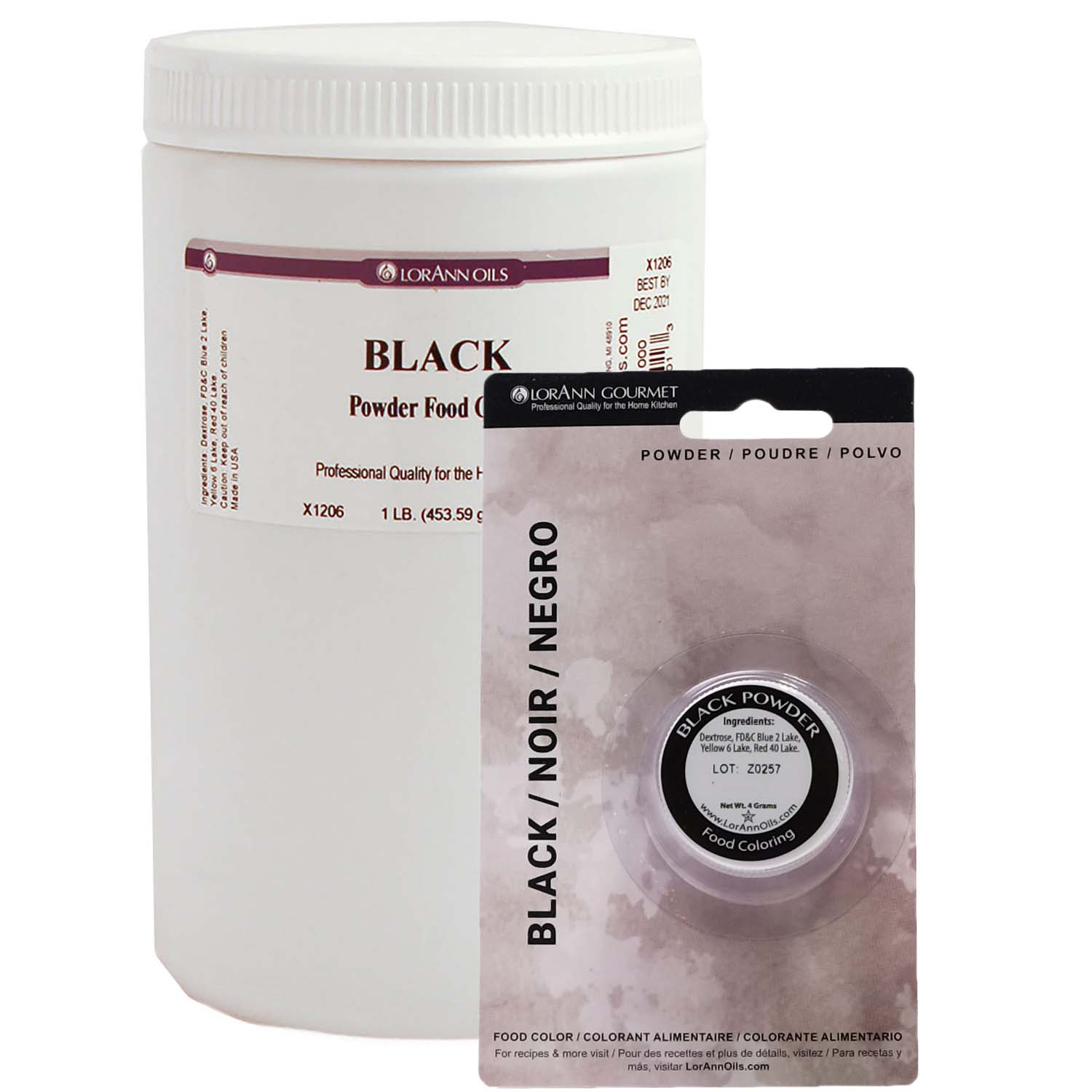 LorAnn Black Powder Food Color