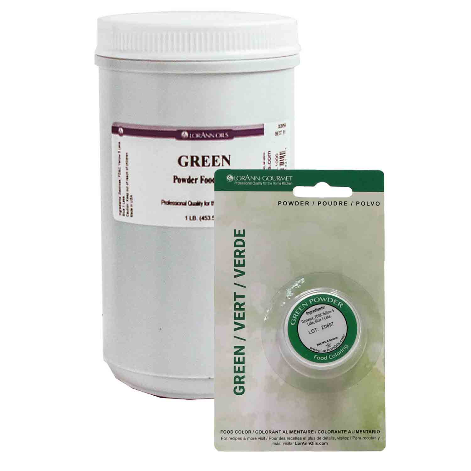 LorAnn Green Powder Food Color