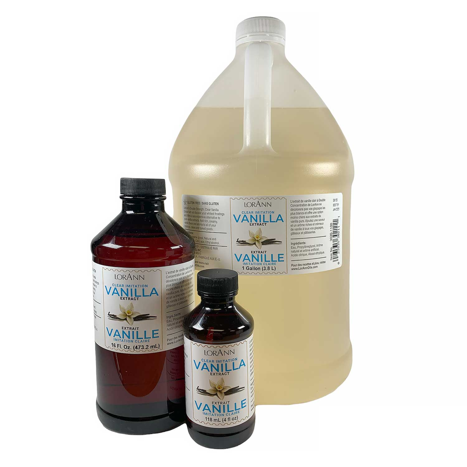 Clear Artificial Vanilla Extract