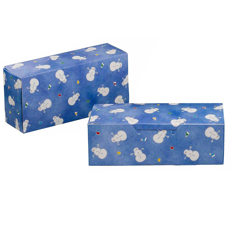 1 lb. Snowman Candy Box