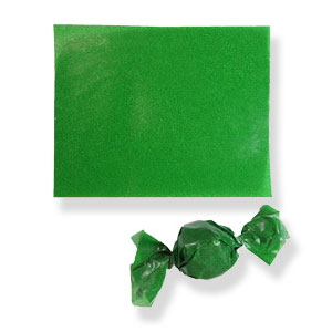 Green Confectionary Wax Paper