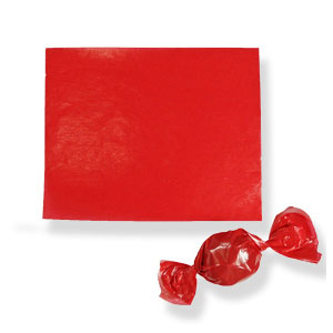 Red Confectionary Wax Paper