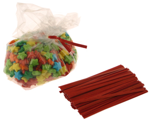 Twisties - Red Twist Ties