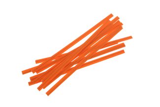 Twisties - Orange Twist Ties