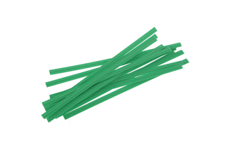 Twisties - Green Twist Ties