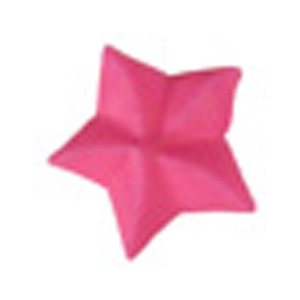 Royal Icing Star - Bright Pink