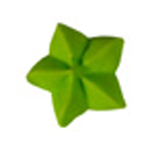 Royal Icing Star - Lime Green