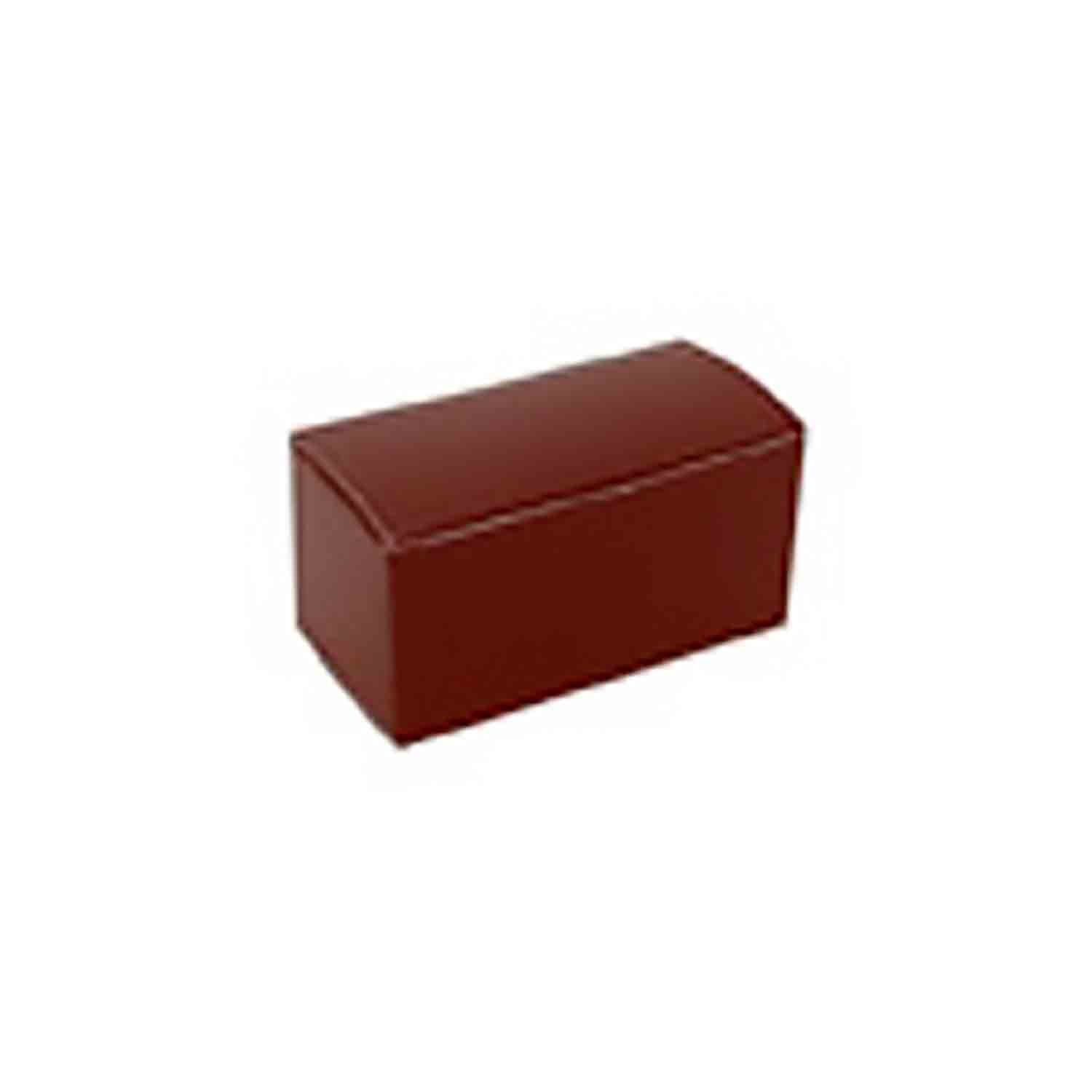 2 Pc. Brown Mini Candy Box