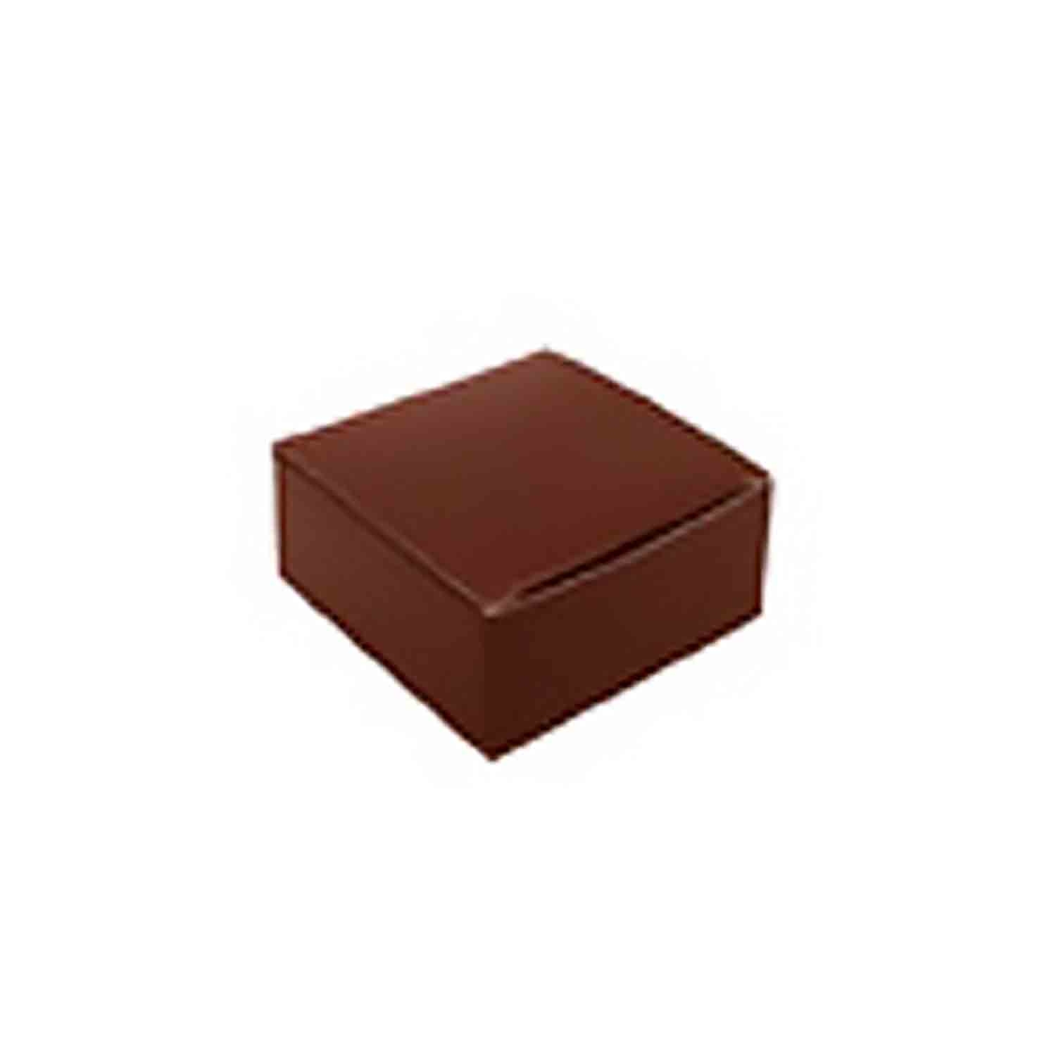 4 Pc. Brown Candy Box