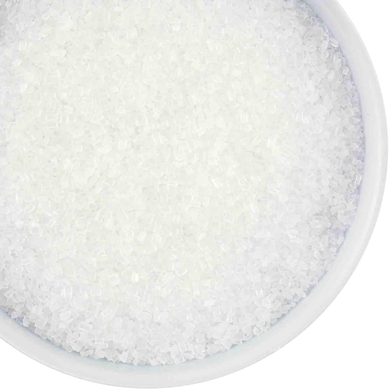 Sprinkle King White Coarse Sugar / Sugar Crystals