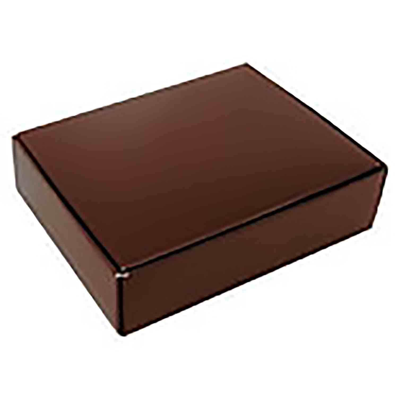 1/2 lb Brown Candy Box