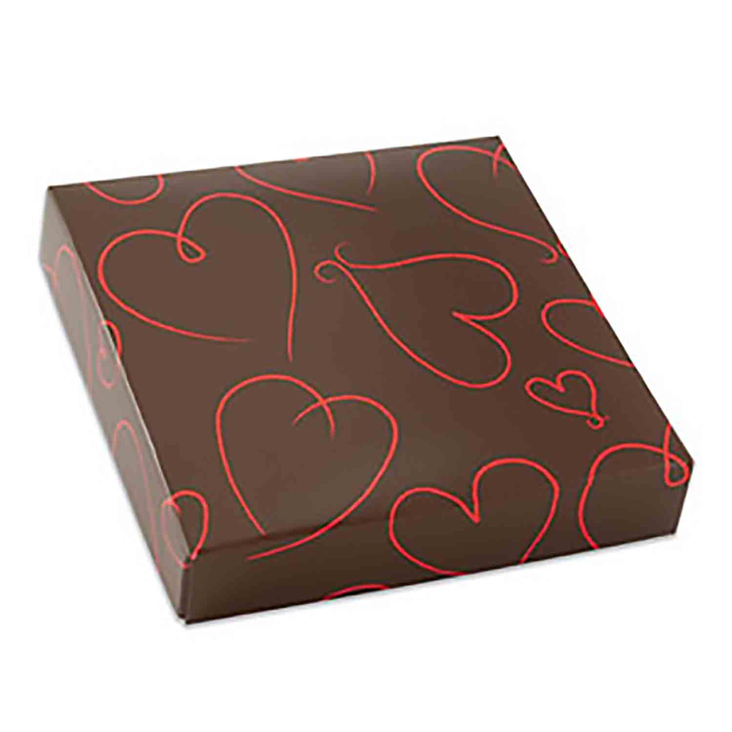 1/2 lb. Hearts Candy Box