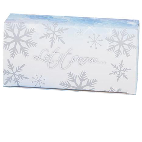 1/2 lb. Let It Snow Candy Box