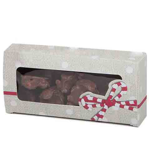 1 lb. Candy Ribbons Candy Box with Window