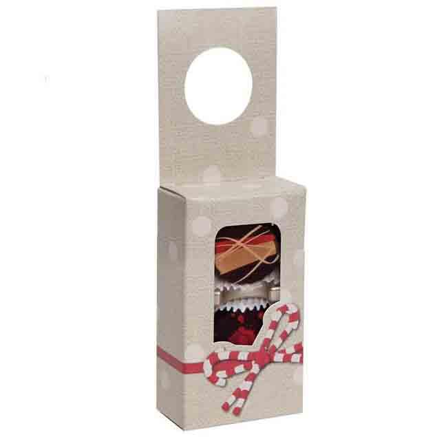 2 pc. Candy Ribbon Hanging Candy Box w/ Window
