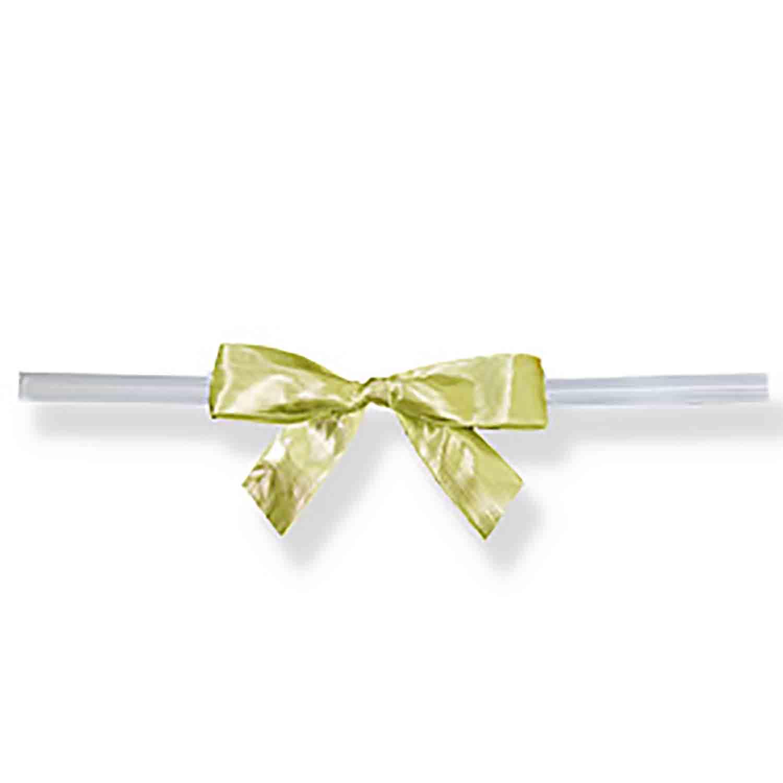 Gold Twist Tie Bows