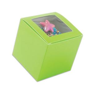 Lime Green 1 Ct. Cupcake Box with Window