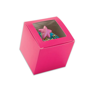 Raspberry 1 Ct. Cupcake Box with Window