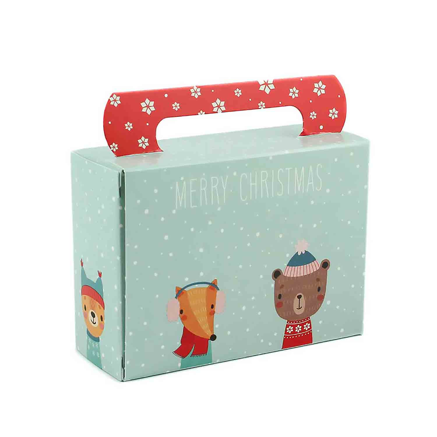 1/4 lb. Winter Friends Tote Candy Box
