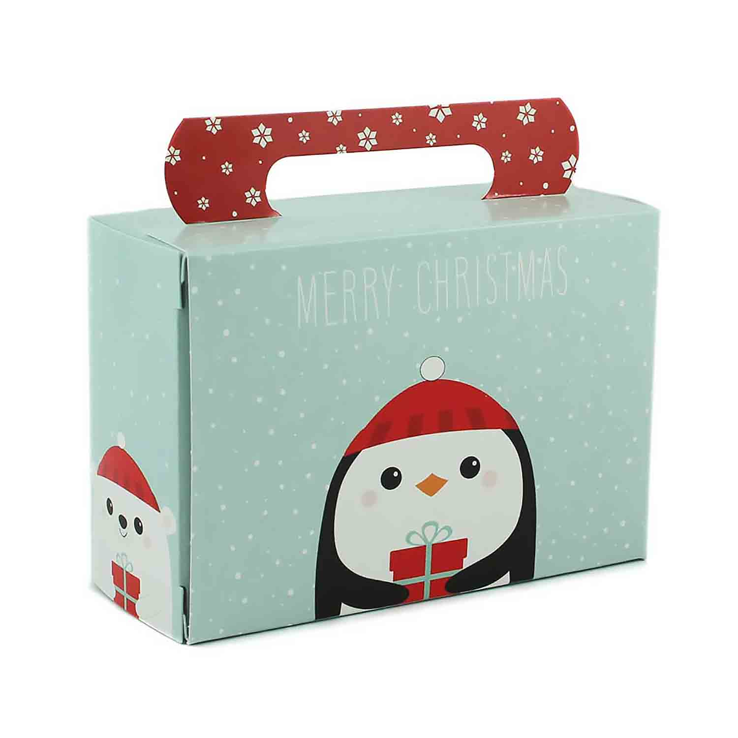 1/2 lb. Winter Friends Tote Candy Box