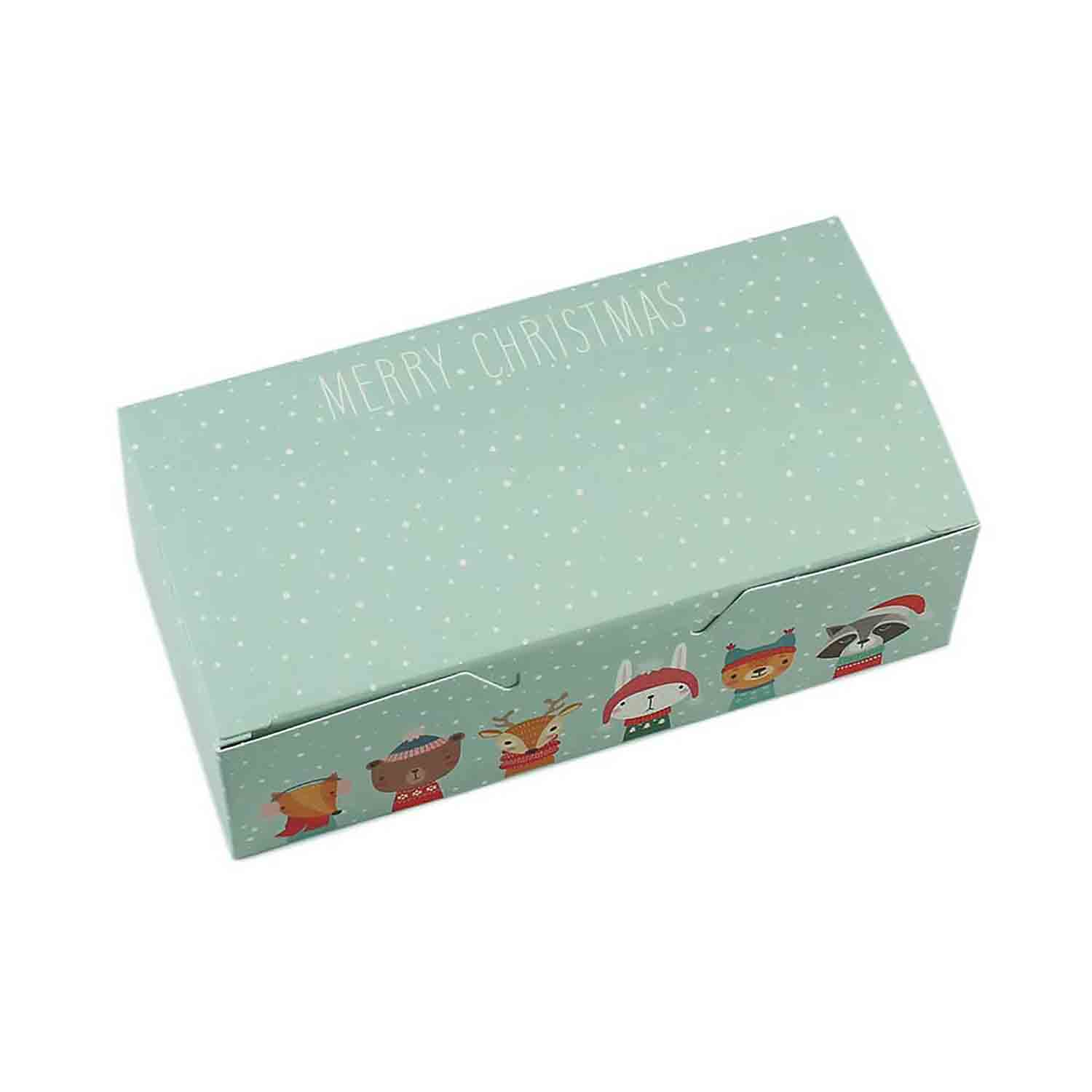 1/2 lb. Winter Friends Candy Box