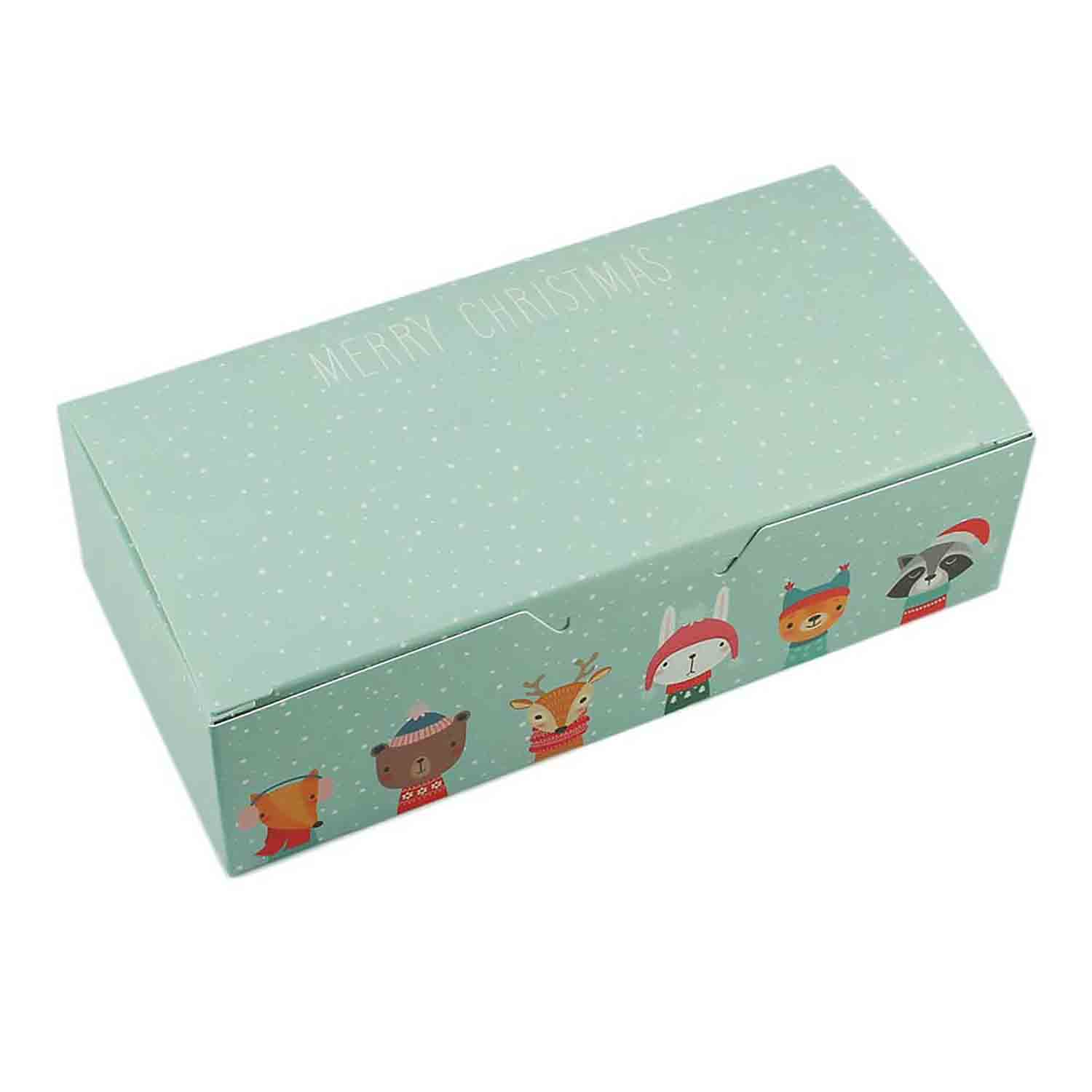 1 lb. Winter Friends Candy Box