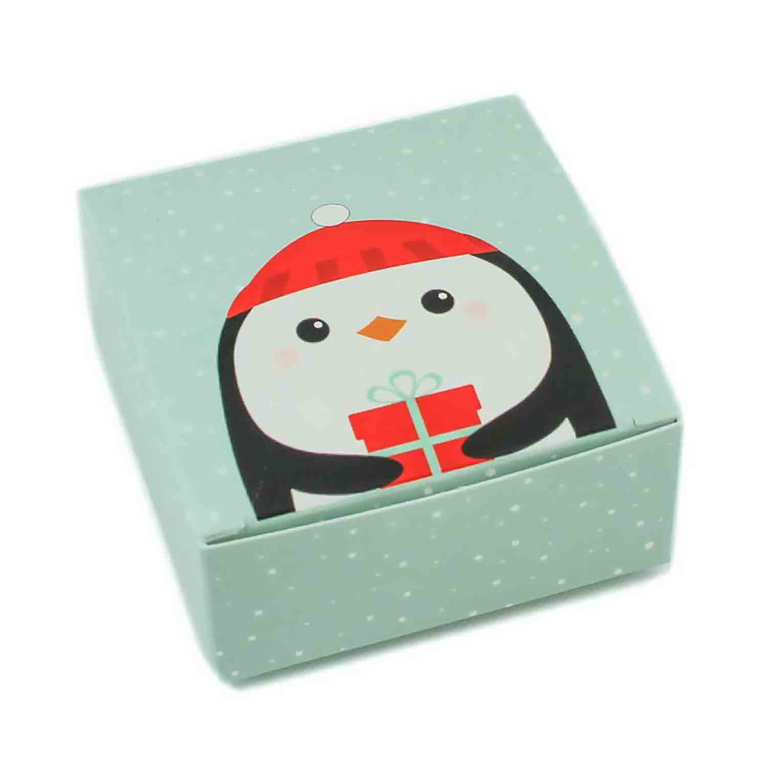 4 pc. Penguin Candy Box
