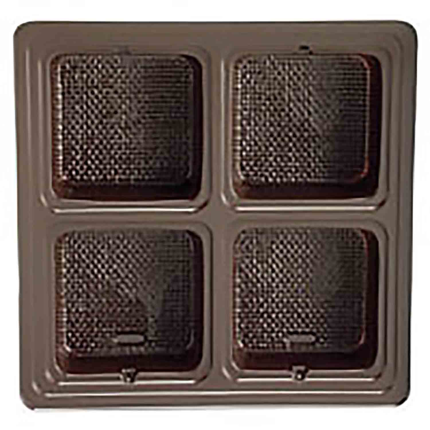 1/2 lb. Square Brown Insert, 4 large cavities