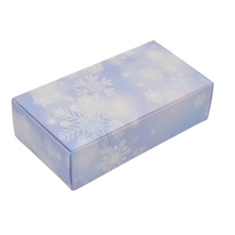 1/2 lb Snowflake Candy Box