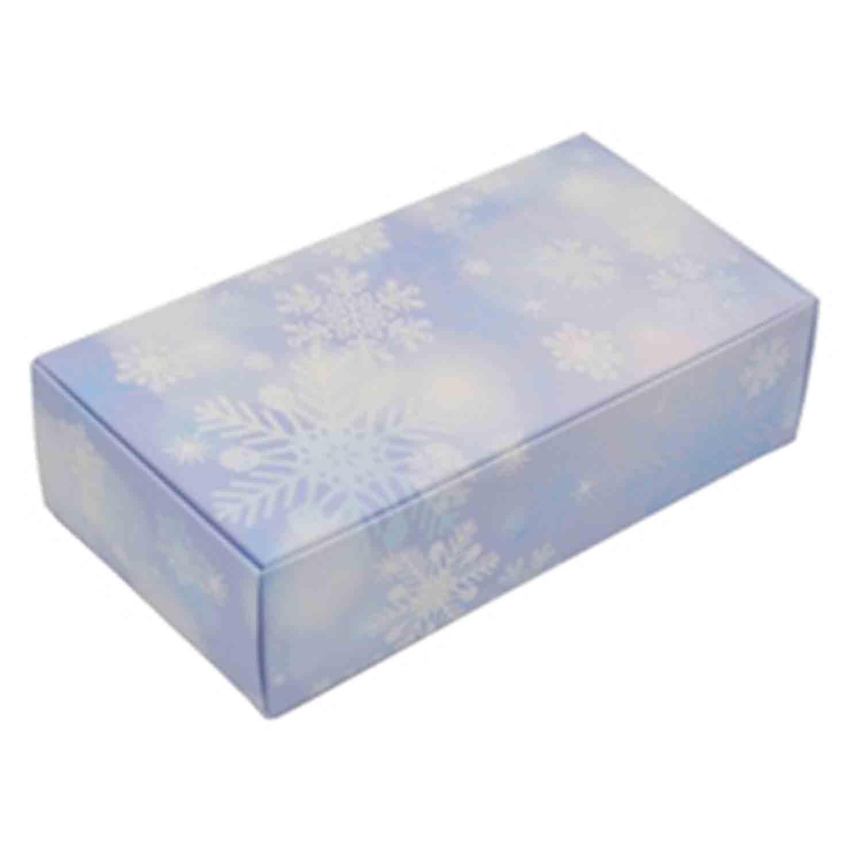 1 1/2 lb Snowflake Candy Box