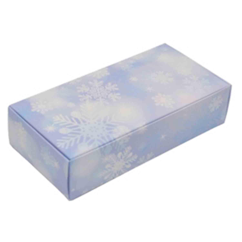 1 lb Snowflake Candy Box