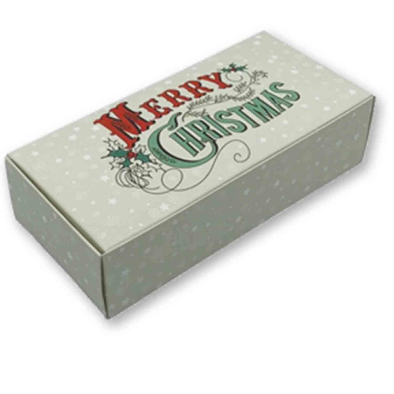 1 lb Merry Christmas Candy Box