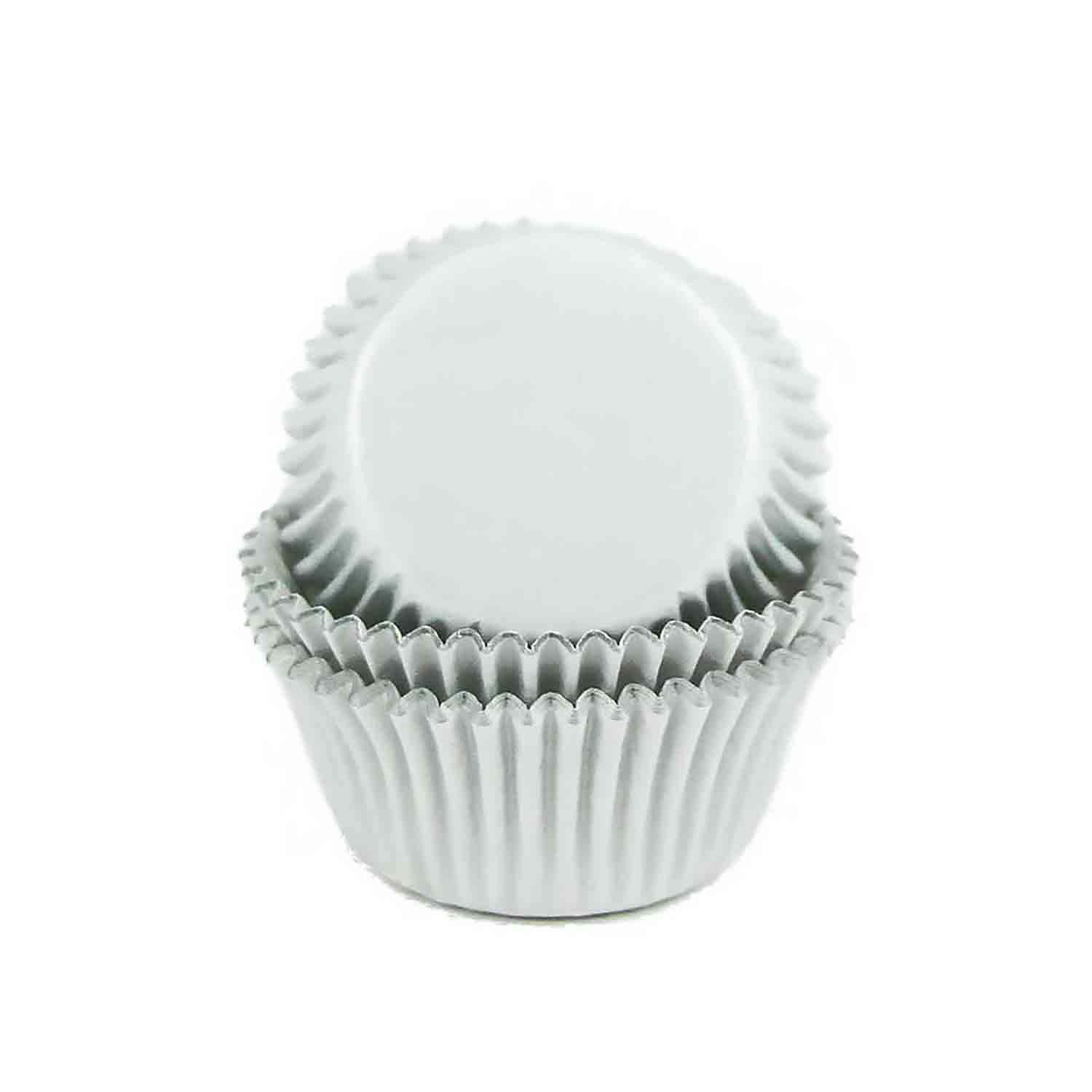 White Foil Mini Baking Cups /# 6 Candy Cup