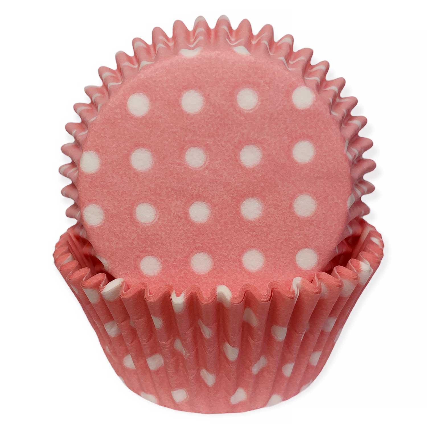 Pink w/White Dots Standard Baking Cups