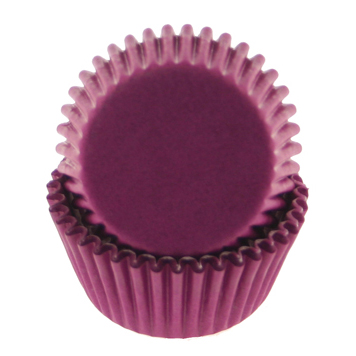 Purple Mini Baking Cup