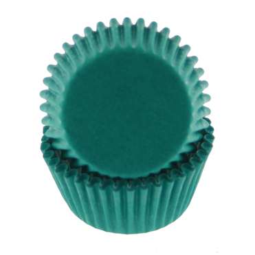 Teal Green Mini Baking Cup