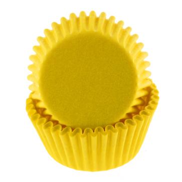 Yellow Mini Baking Cup