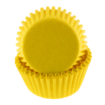 Yellow Mini Baking Cup