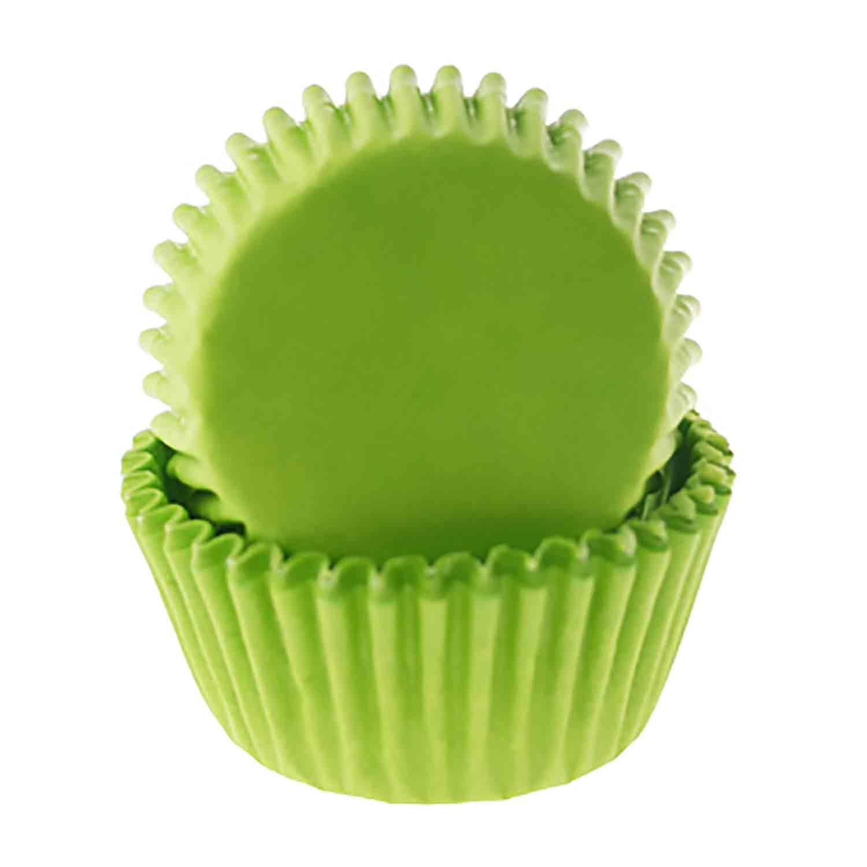 Lime Green Mini Baking Cup