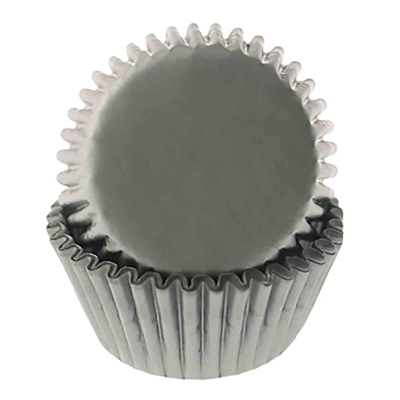 Silver Mini Baking Cup