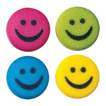 Dec-Ons® Molded Sugar - Happy Face