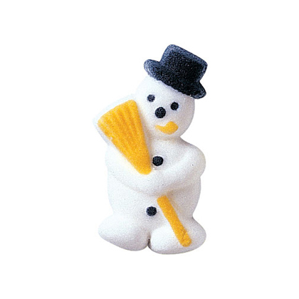 Dec-Ons® Molded Sugar - Snowman